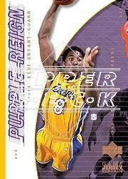 2000-01 Upper Deck #431 Kobe Bryant PR