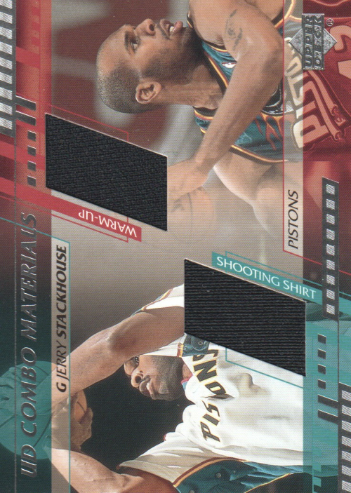 2000-01 Upper Deck Combo Materials #JSCM Jerry Stackhouse