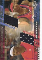 2000-01 Upper Deck Combo Materials #QRCM Quentin Richardson