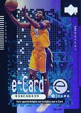 2000-01 Upper Deck e-Card 1 #EC1 Kobe Bryant