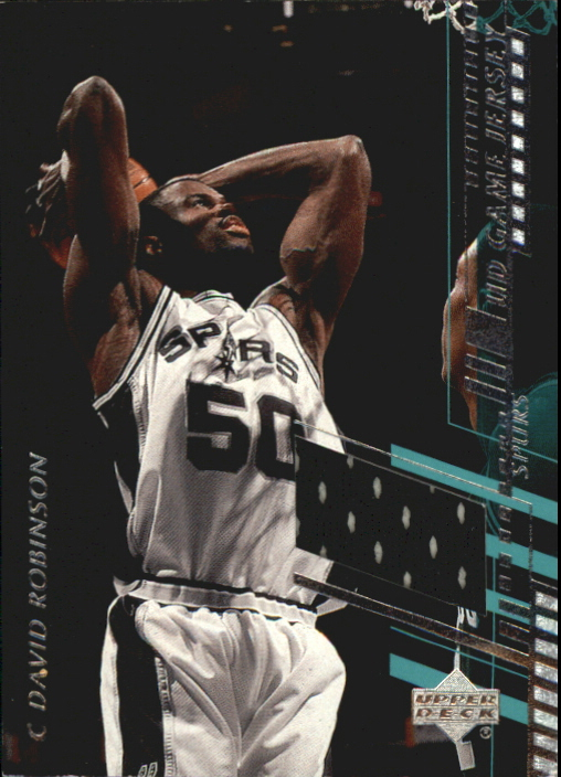 2000-01 Upper Deck Game Jerseys 1 #DRC David Robinson