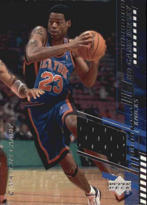 2000-01 Upper Deck Game Jerseys 2 #MAH Marcus Camby