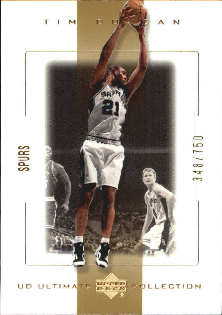 2000-01 Ultimate Collection #49 Tim Duncan