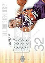 2000-01 Ultimate Collection Game Jerseys Silver #JKJ Jason Kidd