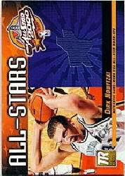 2000-01 Topps Reserve Game Jerseys #TAS26 Dirk Nowitzki B