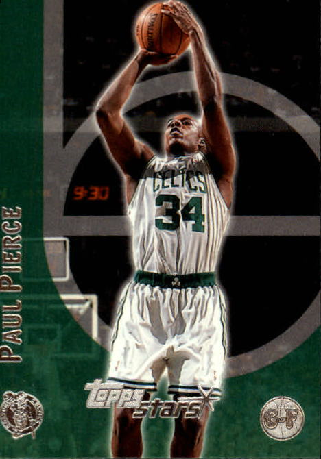 2000-01 Topps Stars #2 Paul Pierce