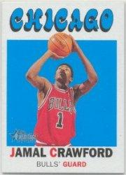 2000-01 Topps Heritage #32 Jamal Crawford RC