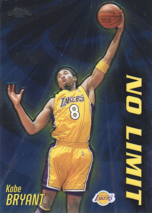 2000-01 Topps Chrome No Limit #NL1 Kobe Bryant