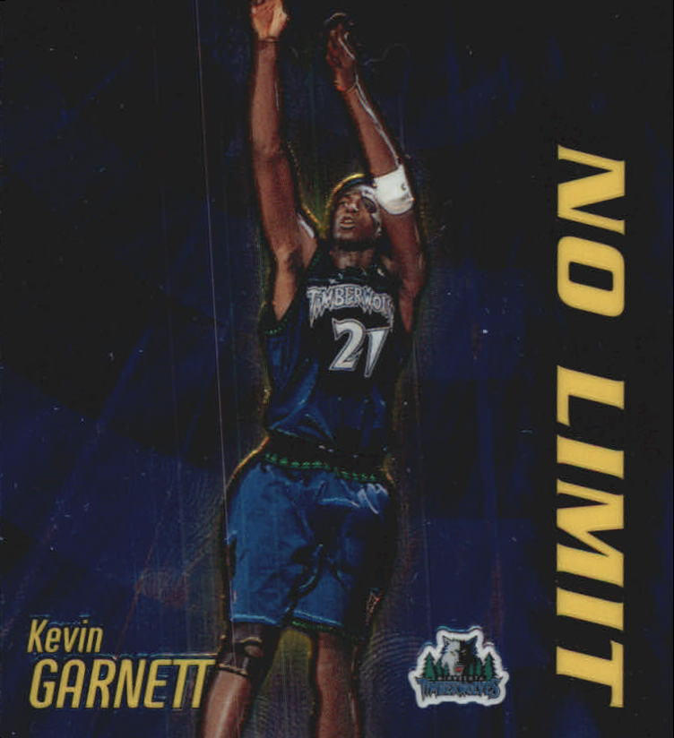 2000-01 Topps Chrome No Limit #NL2 Kevin Garnett