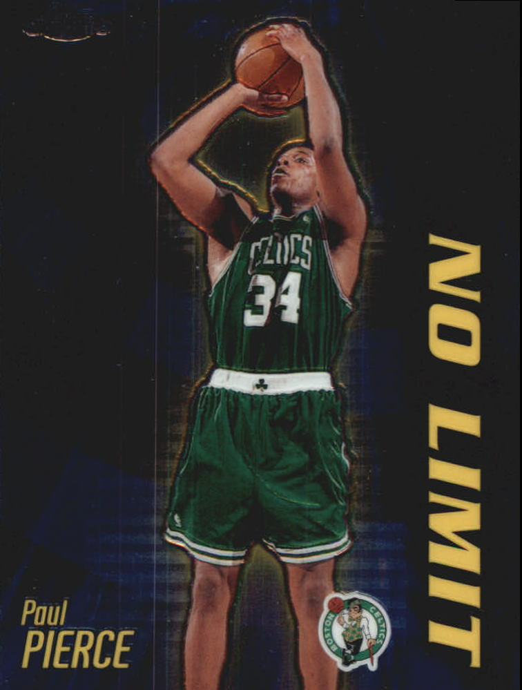 2000-01 Topps Chrome No Limit #NL13 Paul Pierce