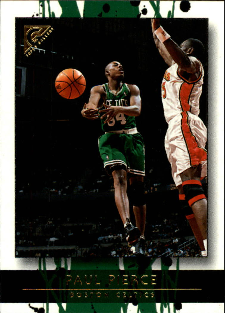 2000-01 Topps Gallery #17 Paul Pierce