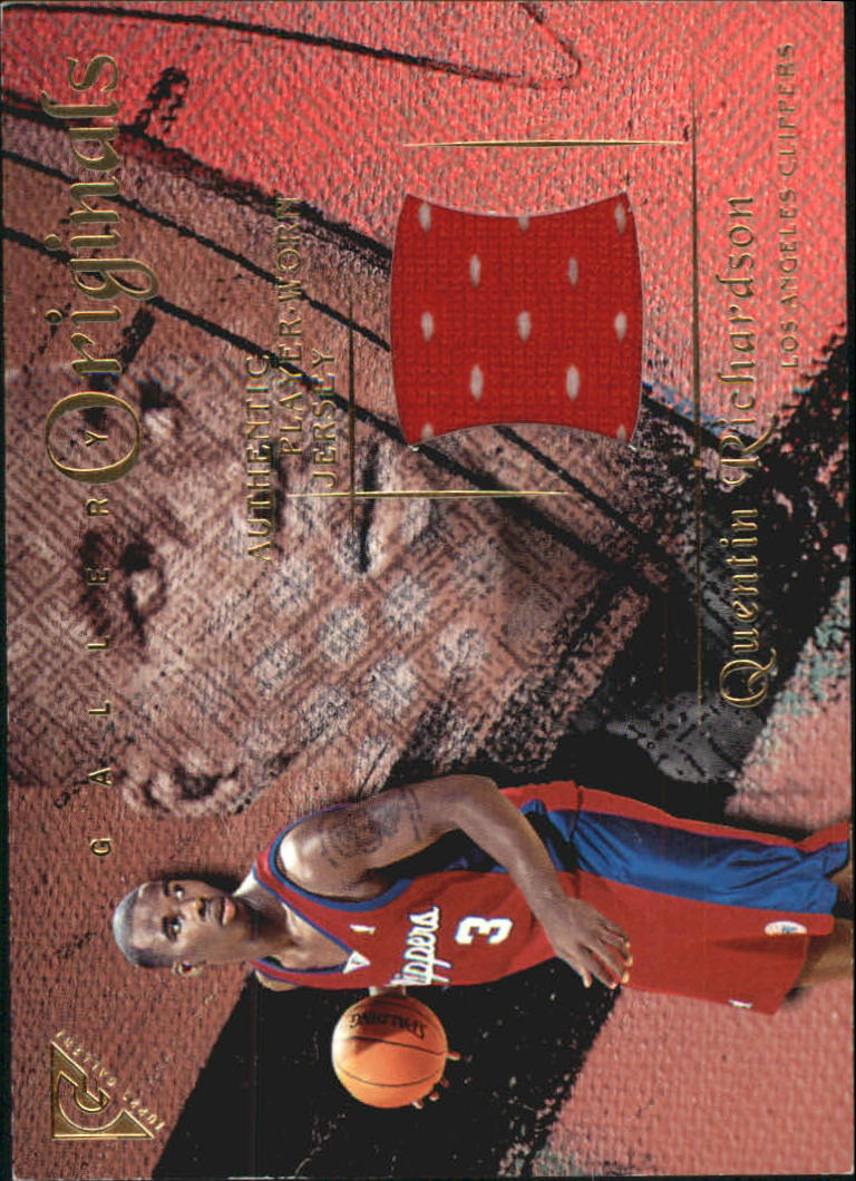 2000-01 Topps Gallery Originals #GO17 Quentin Richardson A