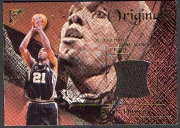 2000-01 Topps Gallery Originals #GO29 Tim Duncan D