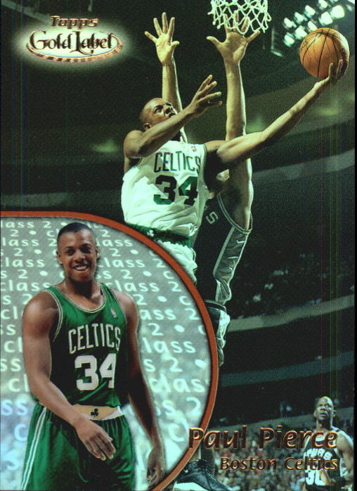 2000-01 Topps Gold Label Class 2 #71 Paul Pierce