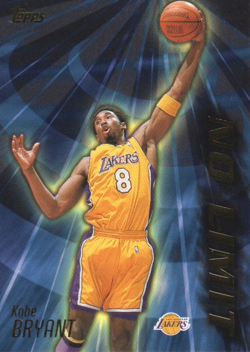2000-01 Topps No Limit #NL1 Kobe Bryant