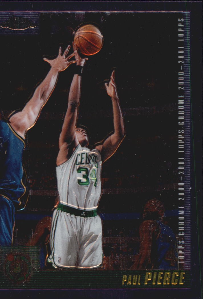 2000-01 Topps Chrome #51 Paul Pierce