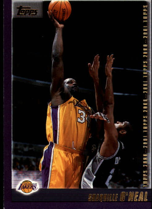 2000-01 Topps #10 Shaquille O'Neal