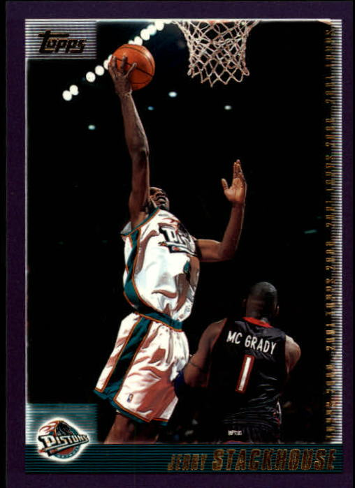 2000-01 Topps #12 Jerry Stackhouse