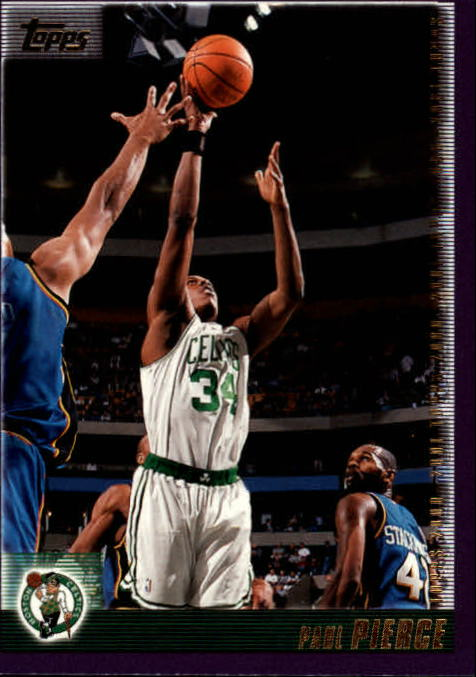 2000-01 Topps #75 Paul Pierce