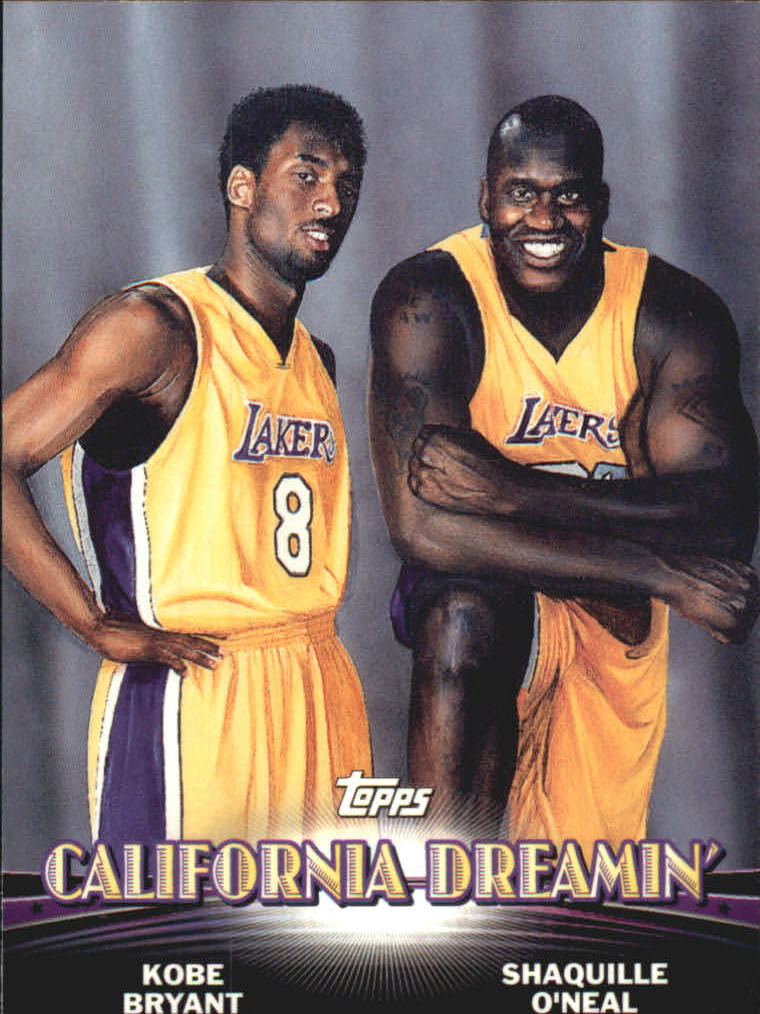 2000-01 Topps Combos 1 #TC1 Shaquille O'Neal/Kobe Bryant