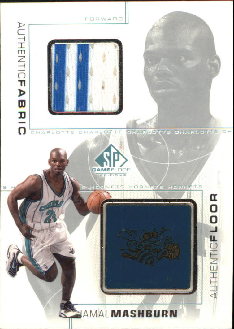 2000-01 SP Game Floor Authentic Fabric/Floor Combos #JMC Jamal Mashburn