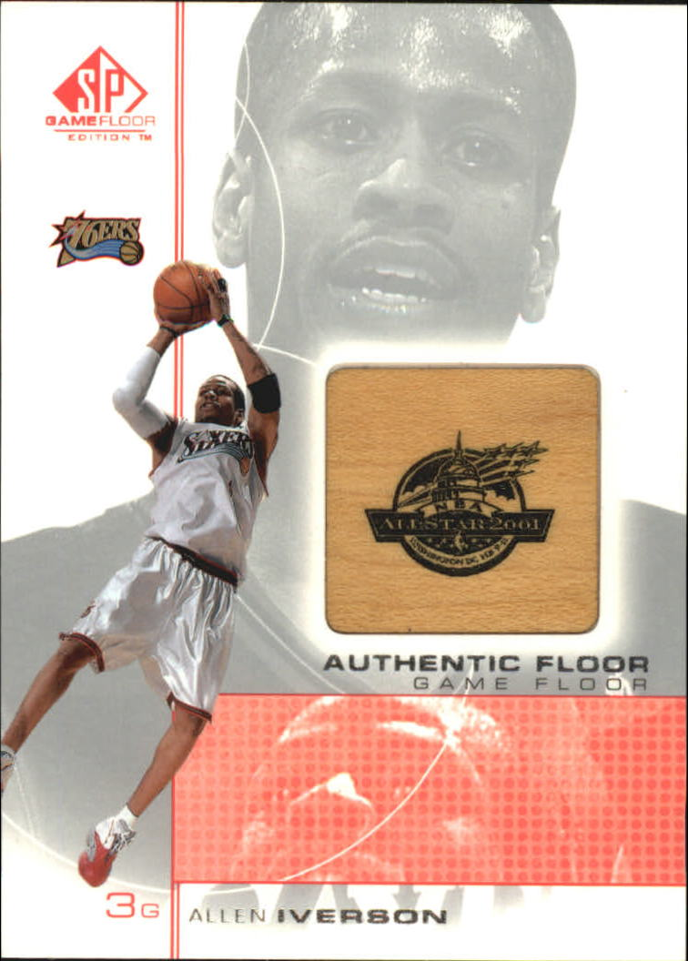 2000-01 SP Game Floor Authentic Floor #AI Allen Iverson