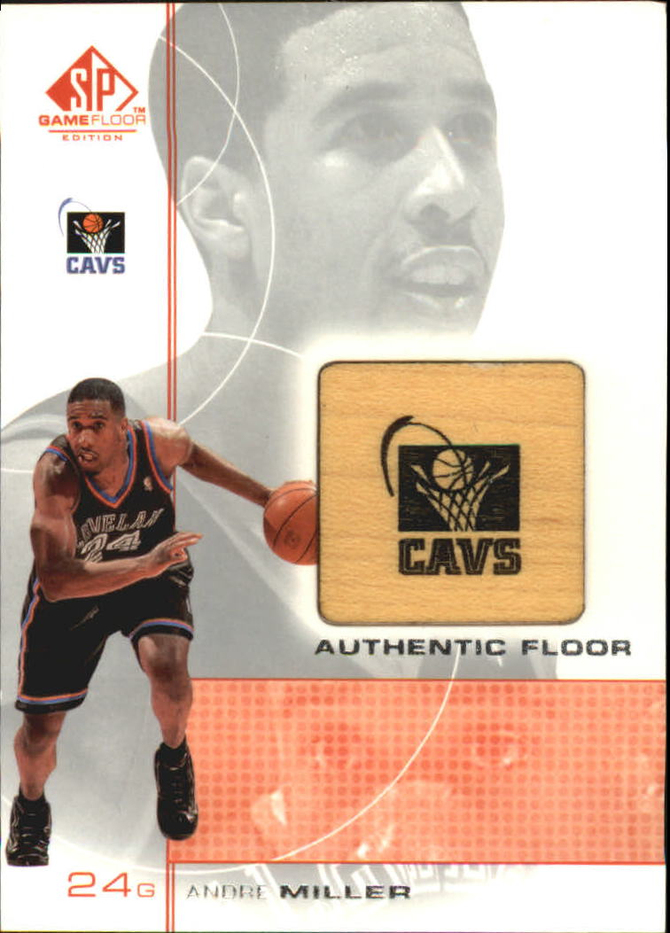 2000-01 SP Game Floor Authentic Floor #AM Andre Miller