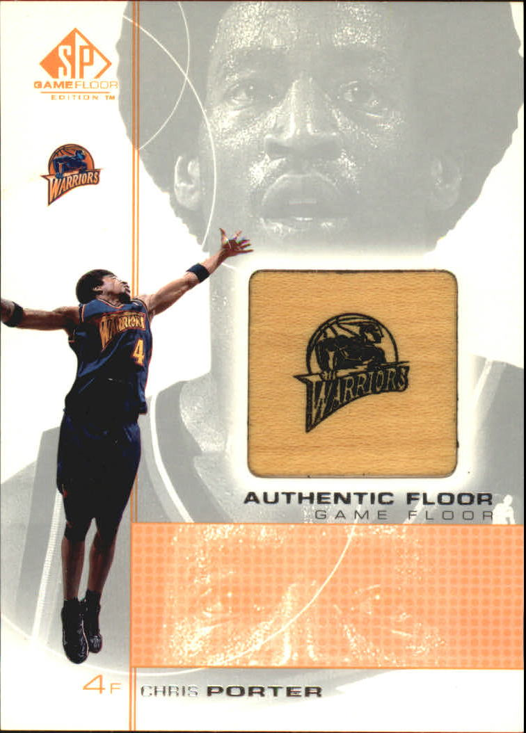 2000-01 SP Game Floor Authentic Floor #CP Chris Porter