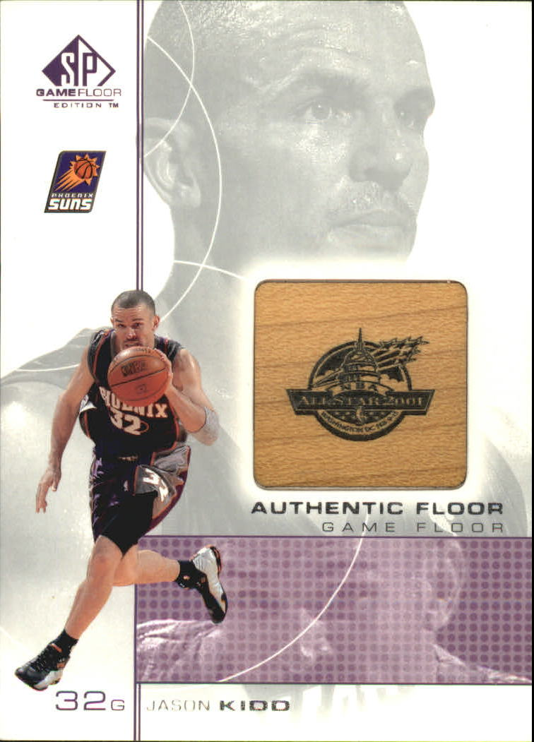 2000-01 SP Game Floor Authentic Floor #JK Jason Kidd