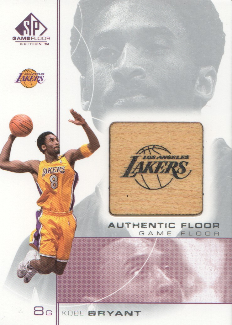 2000-01 SP Game Floor Authentic Floor #KB2 Kobe Bryant