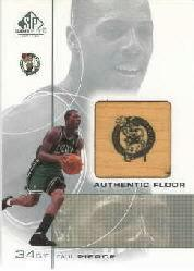 2000-01 SP Game Floor Authentic Floor #PP Paul Pierce