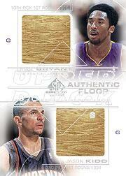 2000-01 SP Game Floor Authentic Floor Combos #C16 Kobe Bryant/Jason Kidd