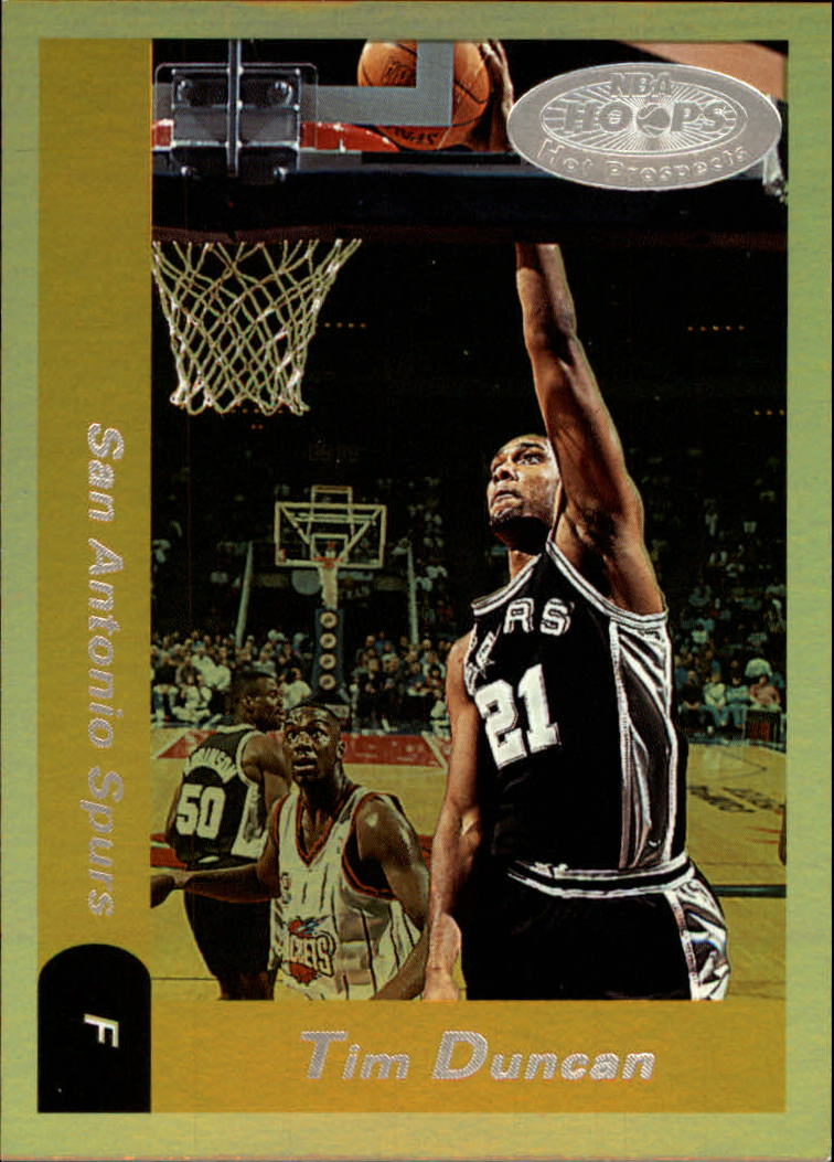 2000-01 Hoops Hot Prospects #5 Tim Duncan