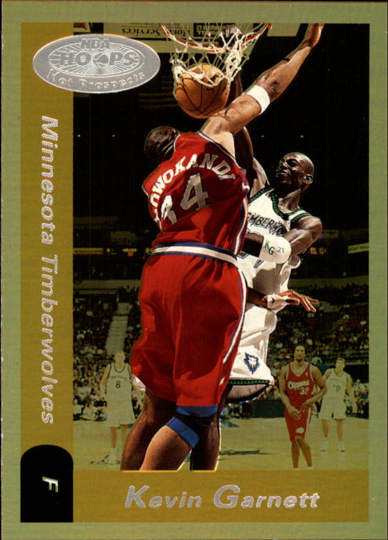 2000-01 Hoops Hot Prospects #12 Kevin Garnett