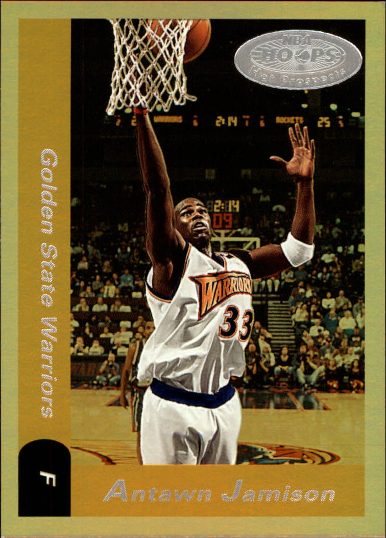 2000-01 Hoops Hot Prospects #27 Antawn Jamison