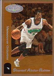 2000-01 Hoops Hot Prospects #38 Shareef Abdur-Rahim