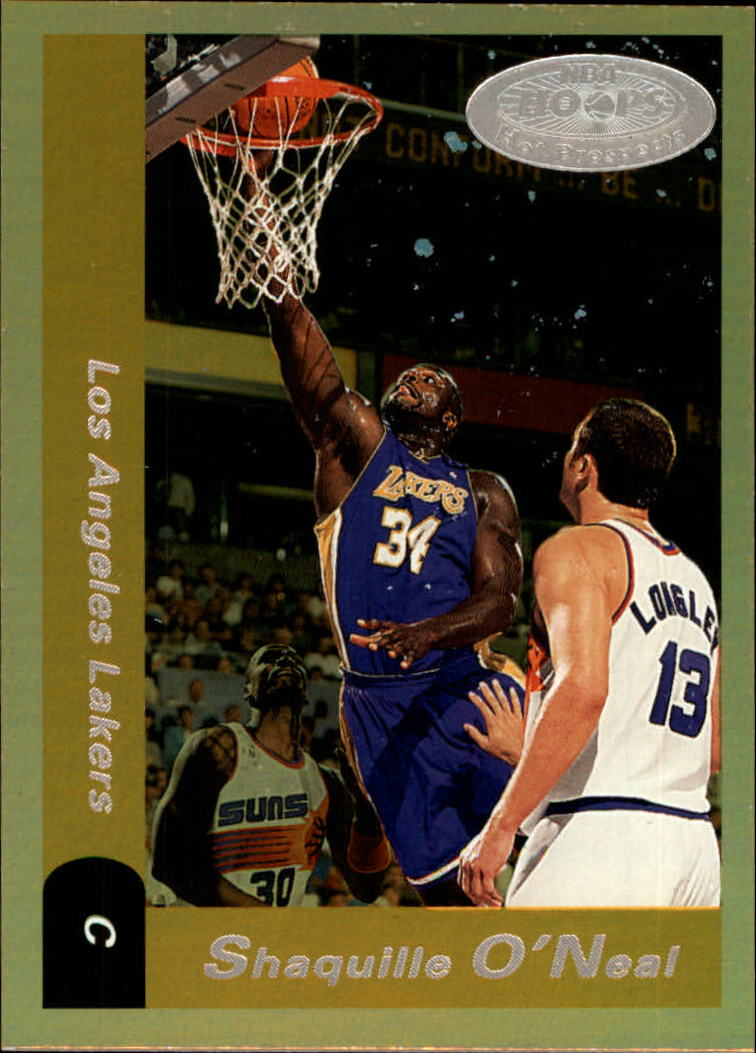 2000-01 Hoops Hot Prospects #65 Shaquille O'Neal