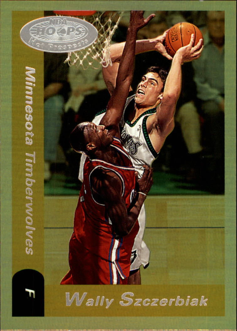 2000-01 Hoops Hot Prospects #73 Wally Szczerbiak