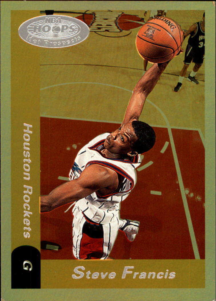 2000-01 Hoops Hot Prospects #75 Steve Francis
