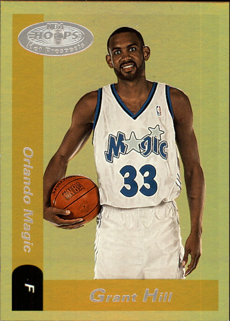 2000-01 Hoops Hot Prospects #78 Grant Hill