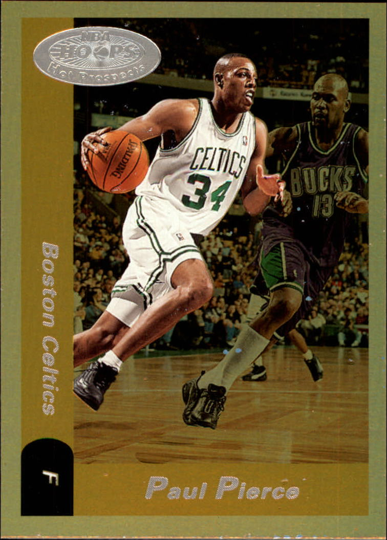 2000-01 Hoops Hot Prospects #91 Paul Pierce