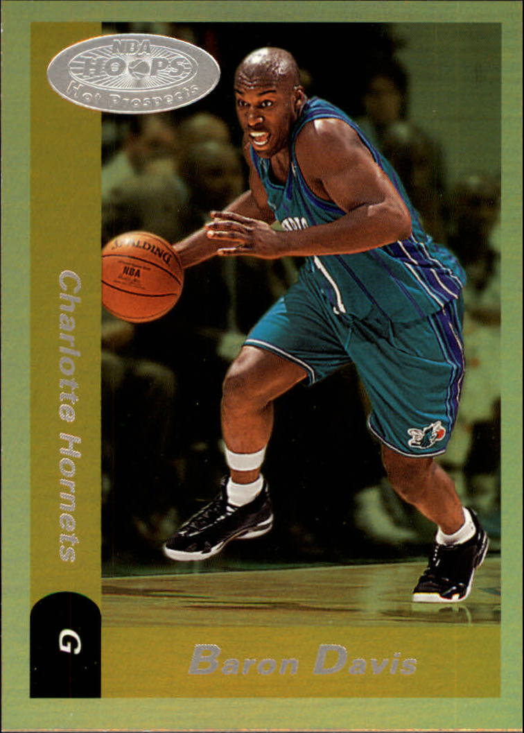 2000-01 Hoops Hot Prospects #108 Baron Davis