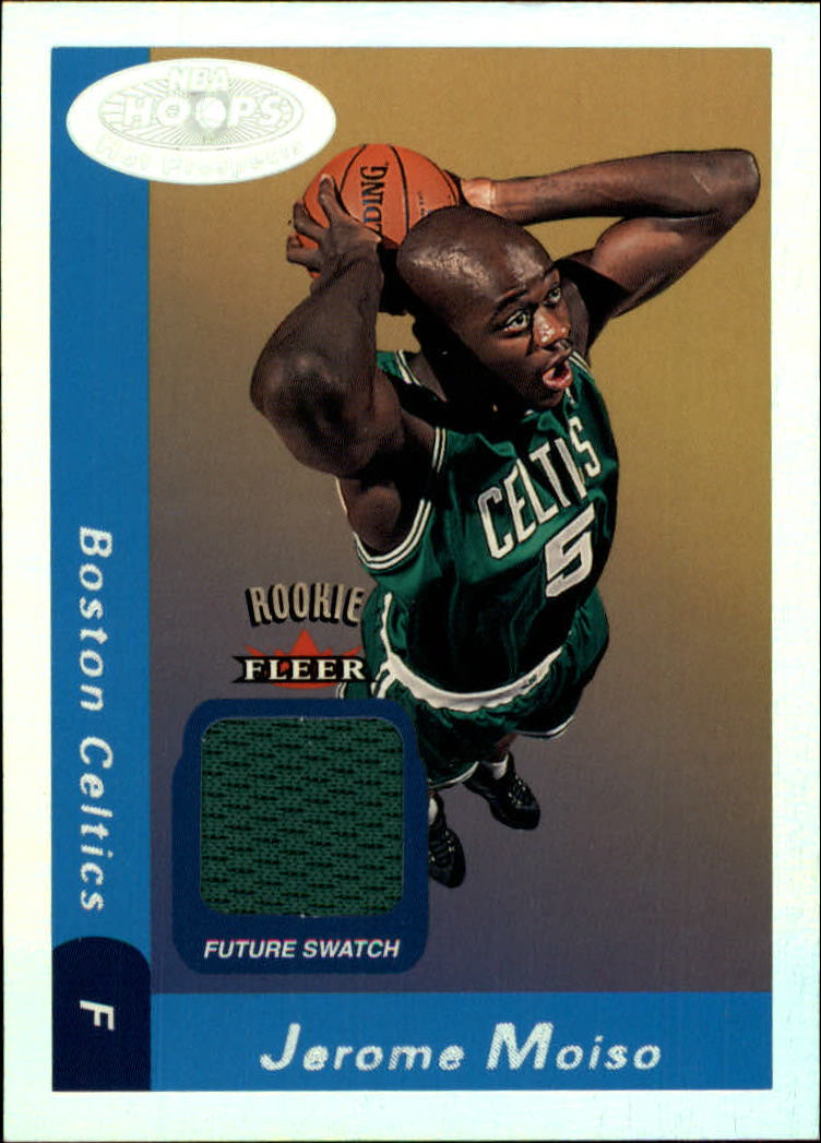 2000-01 Hoops Hot Prospects #127 Jerome Moiso JSY RC