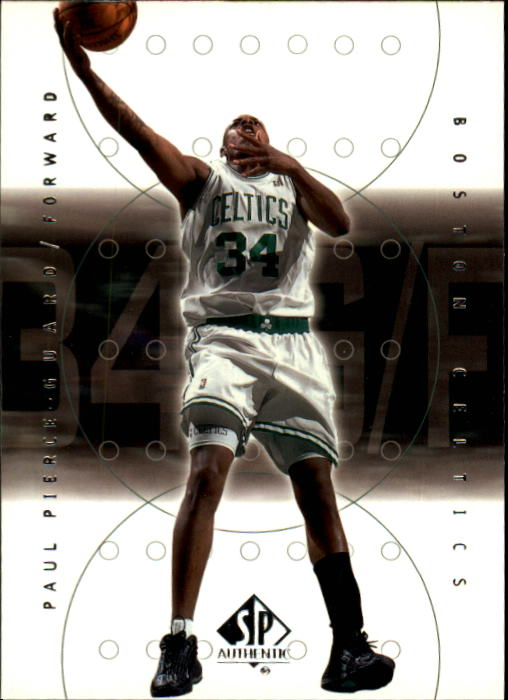 2000-01 SP Authentic #4 Paul Pierce