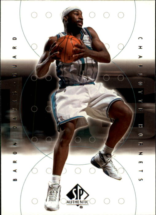 2000-01 SP Authentic #8 Baron Davis