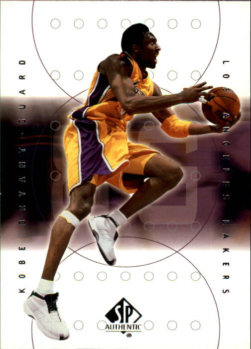 2000-01 SP Authentic #39 Kobe Bryant