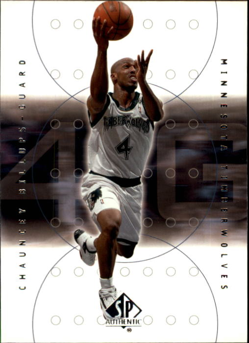 2000-01 SP Authentic #50 Chauncey Billups