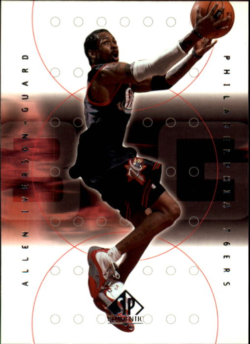 2000-01 SP Authentic #61 Allen Iverson