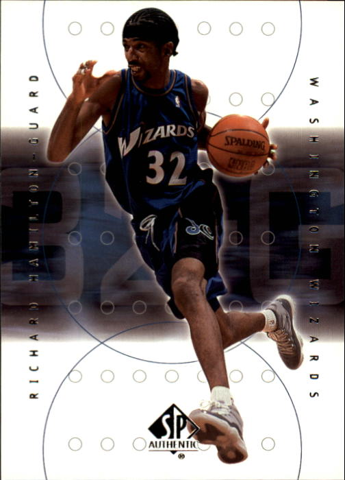 2000-01 SP Authentic #88 Richard Hamilton