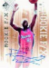 2000-01 SP Authentic #93 Darius Miles AU/500 RC